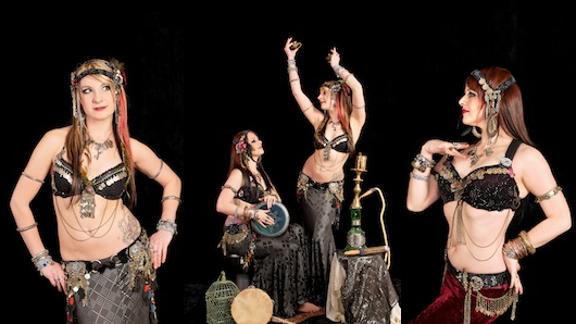 Learn to Belly Dance with Scarlet Lux